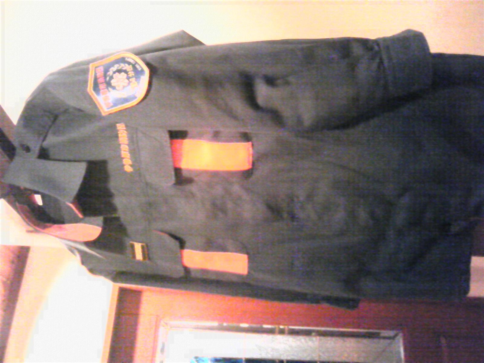 消防団の新しい制服