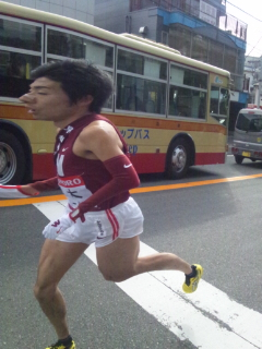 箱根駅伝(<br />  復路)