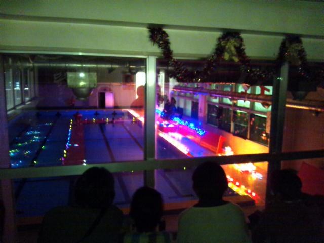 スイミングクラブクリスマス会