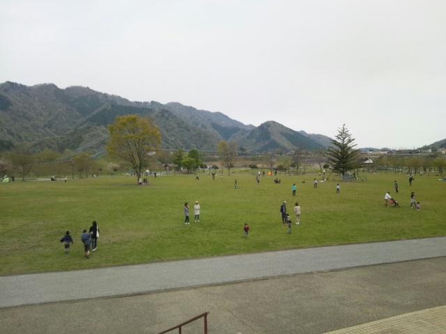 宮ヶ瀬湖の広場