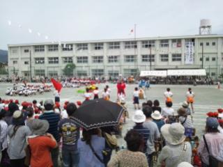 運動会と消防団