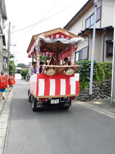 片町御嶽神社例大祭本宮